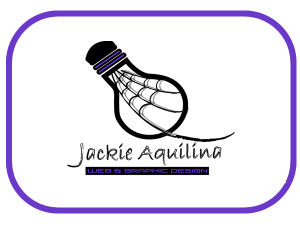 Logo for www.jackieaquilina.com Weaving your business to success!