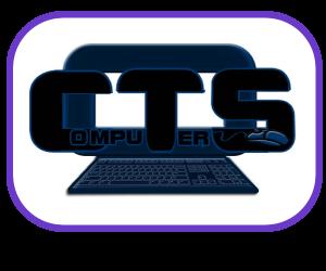 Logo for a Computer Shop and website www.ctscomputersmalta.com