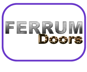 Logo for a Company manufacturing Metal Doors